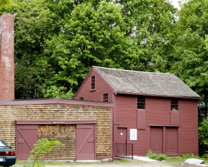 Shaker Workshops retail outlet is located at 18 Mill Lane, next to the Old Schwamb Mill.